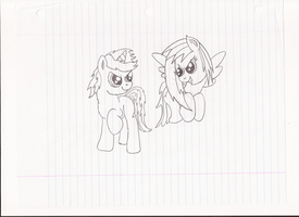 Me and Glaze as Kids by EpIcLuKo8D