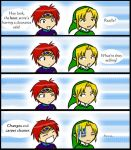 Shopping with Link and Roy by Mimza