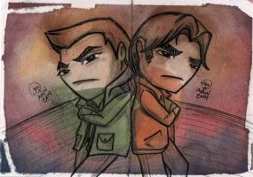 the winchester boys by saltygirl