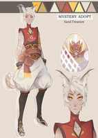 Sand Treasure | Mystery Adopt by maruuneko