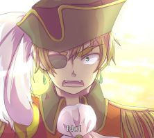 Hetalia Screenshot thing: England by pirihonrocksXD