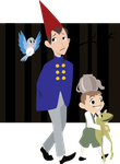 Over the Garden Wall by pixie-the-gator