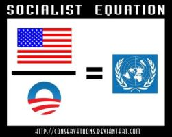 The Socialist Equation no. 2 by RedTusker