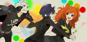 Persona blend by miharuchi