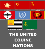 The United Equine Nations by thefieldsofice