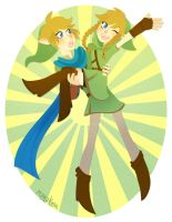 link and linkle by mayakern