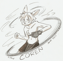 Coren -for Mewgs- by Mister-Saturn