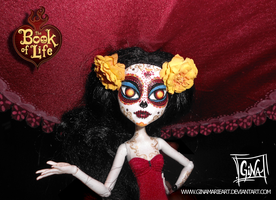 La Muerte Doll- The Book of Life Movie by GinaMarieArt