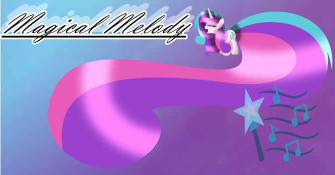 .: Oc :. Magical Melody Wallpaper by Mlp-Magical-Melody