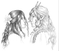 The Princess and The Faun by Finnguala