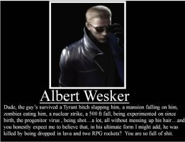 IP-Albert Wesker by Defenderofgo