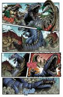 Godzilla Rulers of Earth #22 pg2 by KaijuSamurai