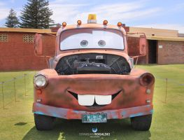 Tow Mater from Cars movie by RaynePhotography