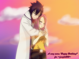 ~~HAPPY BIRTHDAY graylu232!!~~ by 0Eka0