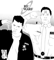 Rimmer and Lister V2 by DarkFurianX