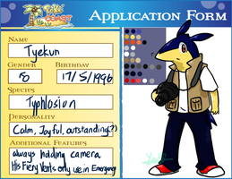 Tyekun the Typhlosion(Poke-Coast App) by NSYee36