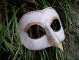 Barn owl mask by SilverCicada