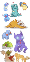 Pokemon by senpeep