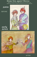 Draw this again: Lizards Brothers by Otai