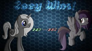 Pony Kombat New Blood 4 Round 1, Battle 1 Result by Macgrubor