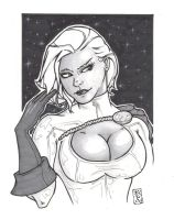 MY FIRST COPIC POWER GIRL by WILLEYWORKS