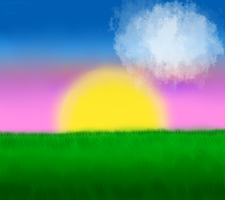 Collab .:Sunset:. With Alasia by AnamayCat