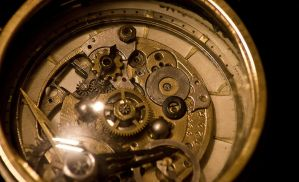 Little Steampunk Alarm Clock detail 2 by Giudy-chan