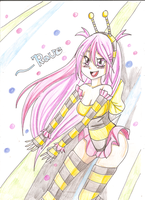 Technno Rave bee by SugarYuyu