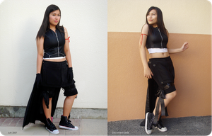 Tifa cosplay: comparison by lonelymiracle