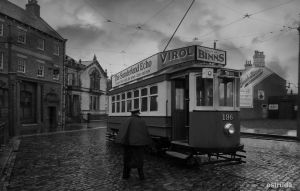 The Tram Driver by Estruda