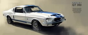 Shelby GT 350 by GoodrichDesign