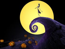 The Nightmare before Christmas by Calined