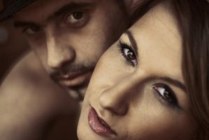Couple of eyes by Anupthra