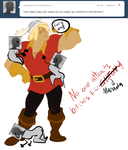Ask Manada -- LIKE GASTON by oukiee