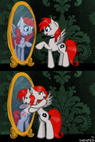 Mirror Sisters by Shentes