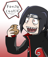 Itachi's Snacktime by BladeXD