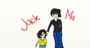 Jack and Ma x by CusImCoolLikeThat