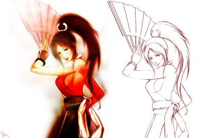MAI SHIRANUI (The King Of Fighters) by Kunoichi1111