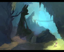 I Think It's A Cave With Like Holes In The Ceiling by BerryDrops