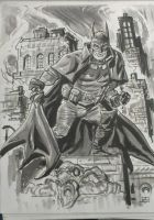 Gotham by Gaslight Batman by deankotz