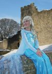 Elsa cosplay ~ Lucca Comics and Games by LuXoN94