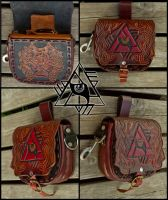 Lupus Illuminatus Belt Bag by Wodenswolf