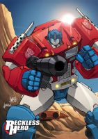 Optimus Prime by RecklessHero