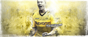 Lewandowski by issam-gfx