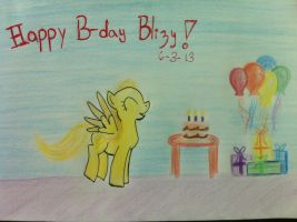 Blizy had her BDay!! by blizyrockets