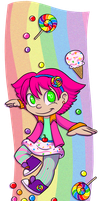Sugar Rainbow Rush Myrcury Candystar by Myrcury-Art