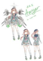 [Request] A.N.S Avenger 1st concept by IzumiJun