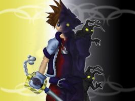 Sora Light and Dark by CrAze-Kun