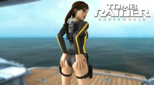 Tanya Croft: Sexy Wetsuit by AlexCroft25