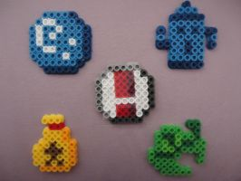 Animal Crossing Items by PerlerHime